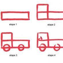 Leçon de dessin : UN CAMION