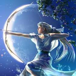 Artémis - Déesse de la chasse et de la lune