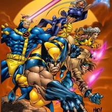 Marvel, Coloriage X-MEN