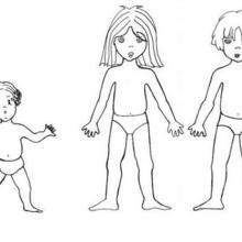 Coloriage d'enfants