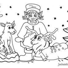 Les animaux de Noël