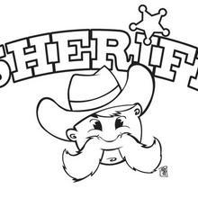 Coloriage du sherif