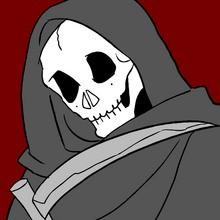Coloriage MORT HALLOWEEN