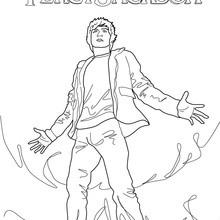 Coloriage Percy Jackson : Le voleur de foudre