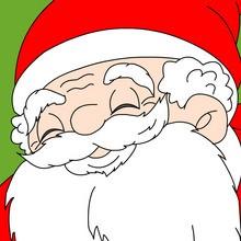 Noël, Coloriage NOËL