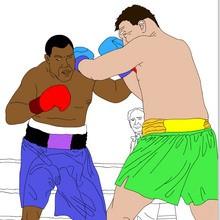Coloriages des ARTS MARTIAUX aux Jeux Olympiques