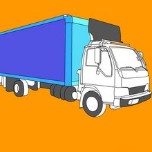 Coloriages de Camions