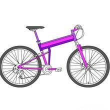 coloriages pour garçons, Coloriages de vélos