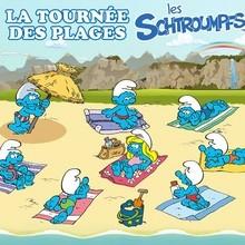 Actualité : Retrouve les Schtroumpfs cet été à la plage !