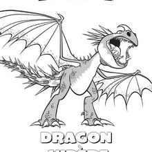 Coloriage : Dragon vipère