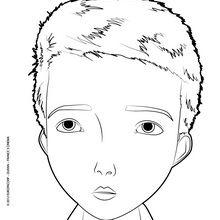 Coloriage : Le portrait de Jack