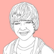 Coloriage GREYSON CHANCE