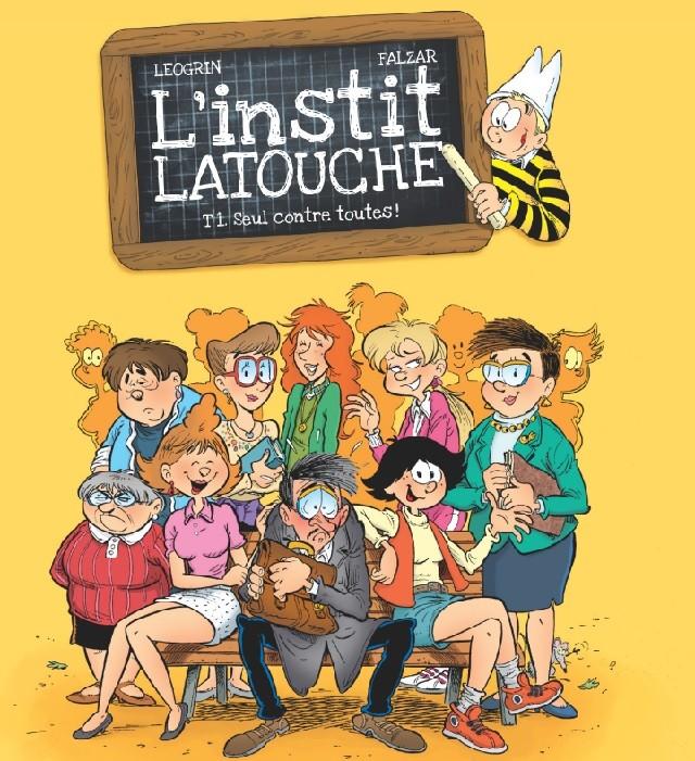Coloriage L'instit Latouche