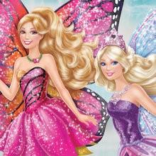 Coloriages Barbie Mariposa et le Royaume des fées
