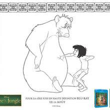 Coloriage : Baloo et Mowgli