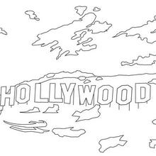 Coloriage de Universal Studios Hollywood