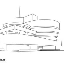 Coloriage du Museum of modern art