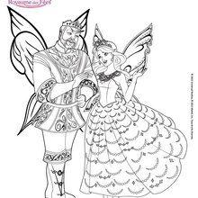 Le Roi Regellius et la Princesse Catania