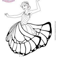 Mariposa dans la salle de bal