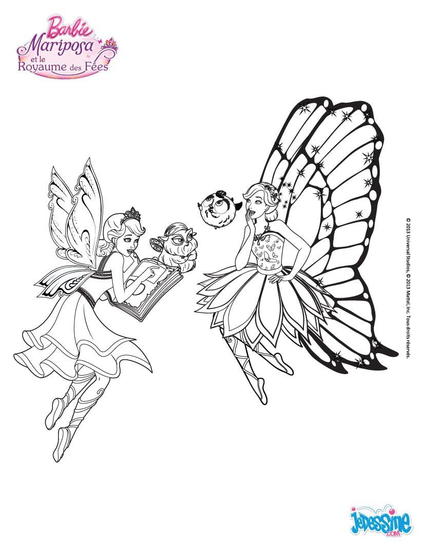 Coloriage De Cheval Avec Des Ailes.Coloriages Sylvie Le Cheval Aile De Mariposa Fr Hellokids Com