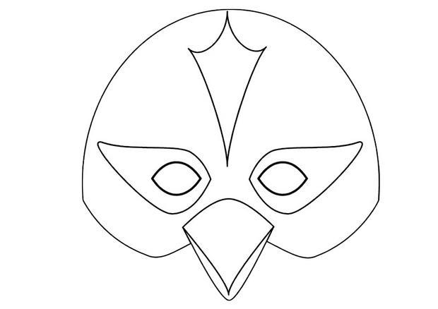 Activit s manuelles masque d 39 oiseau - Masque oiseau a imprimer ...