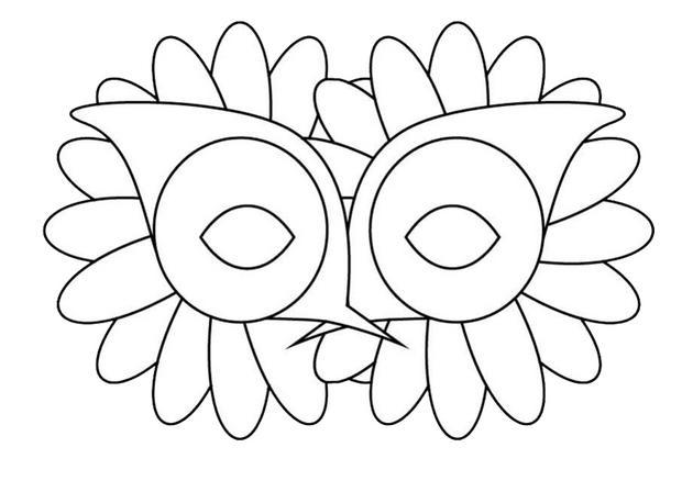 Activit s manuelles masque fleurs - Masque de carnaval a imprimer ...