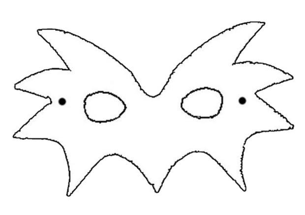 Activit s manuelles masque soleil - Masque chauve souris a imprimer ...