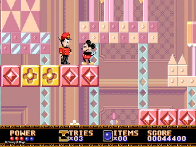 Le jeu culte de Sega Castle of Illusion Starring Mickey Mouse reprend vie !