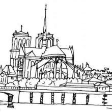 Coloriage de Notre-Dame