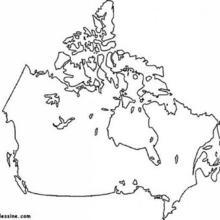 Coloriage du Canada