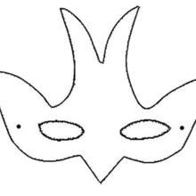 Masque à imprimer : Masque d'hirondelle