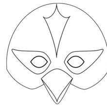Fiche bricolage : Masque de Carnaval : L'OISEAU
