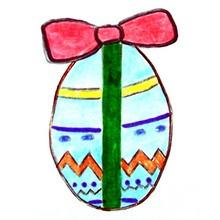 Leçon de dessin : Poussin de Pâques