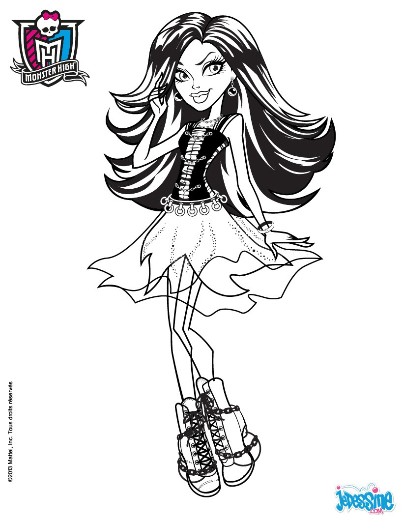 Coloriages spectra vondergeist - Coloriage monster high baby ...