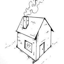 Tuto de dessin : Dessiner une maison en perspective