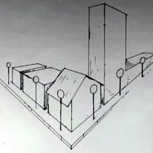 Rue en perspective
