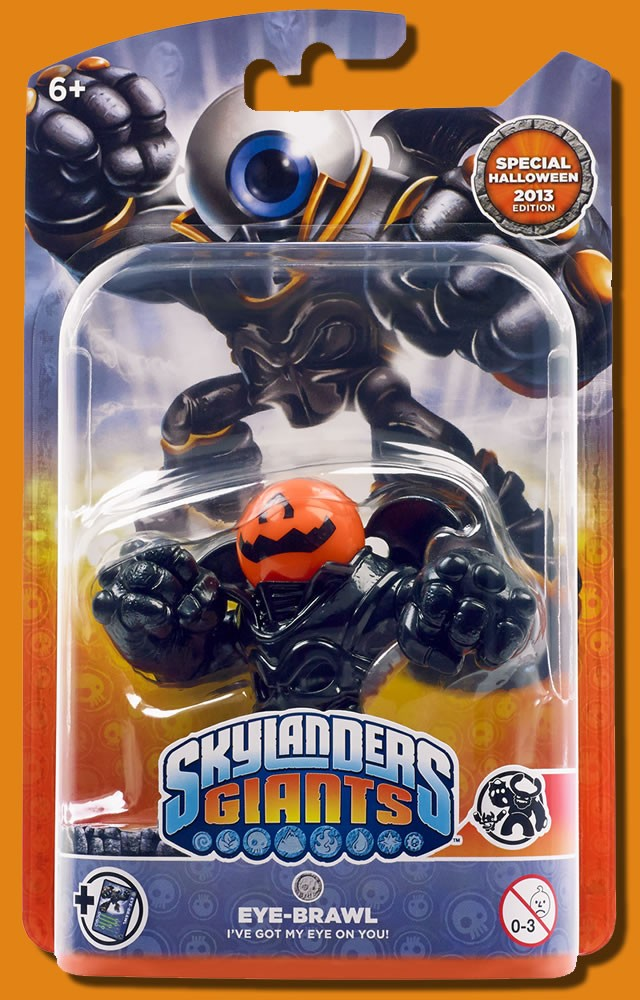 Un skylander giant pour halloween - Coloriage eye brawl ...