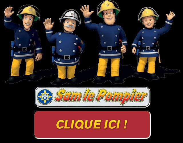 Coloriage pompier 6 coloriages gratuits - Sam le pompier noel ...