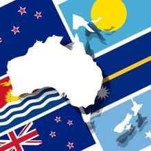 Jeu : Reconnaître les drapeaux d'Océanie