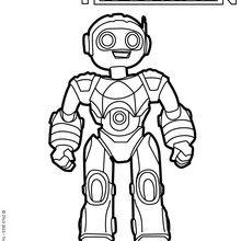 Coloriages le robosapien - Coloriage franky le robot ...