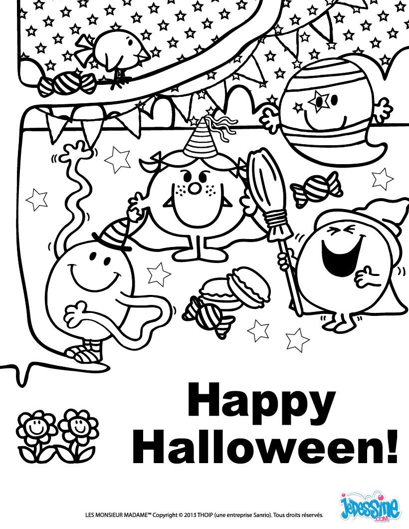 Préférence Coloriages happy halloween à imprimer - fr.hellokids.com CH75
