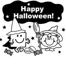 Happy Halloween à imprimer