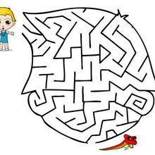 Le labyrinthe de Téo