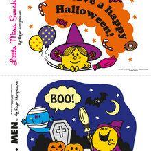 Carte à imprimer : Carte de Halloween