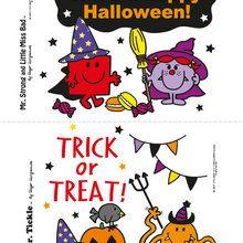 Carte à imprimer pour Halloween