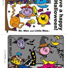 Cartes d'Halloween à imprimer