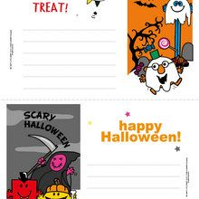 Carte d'invitation Halloween