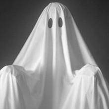 Le déguisement de fantôme
