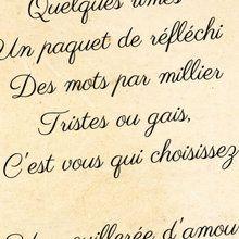 La recette de poème