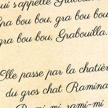 Poésie : La sorcière Grabouilla